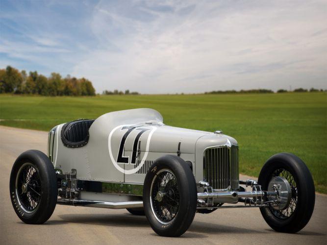 1931 Miller V16 retro race racing wallpaper
