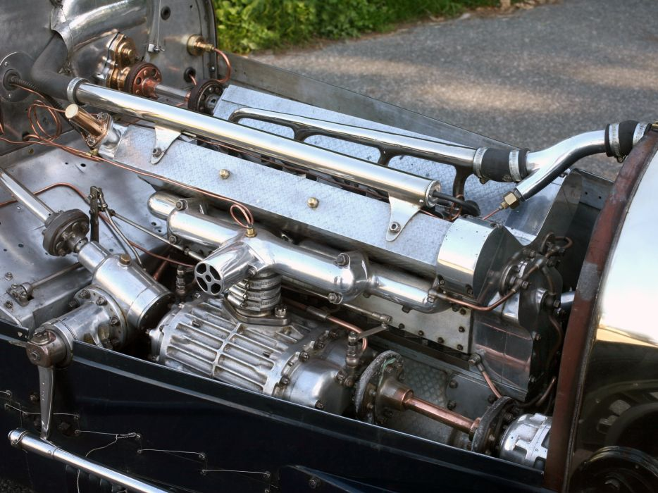 1932 Bugatti Type-51 Grand Prix retro race racing engine engines g wallpaper