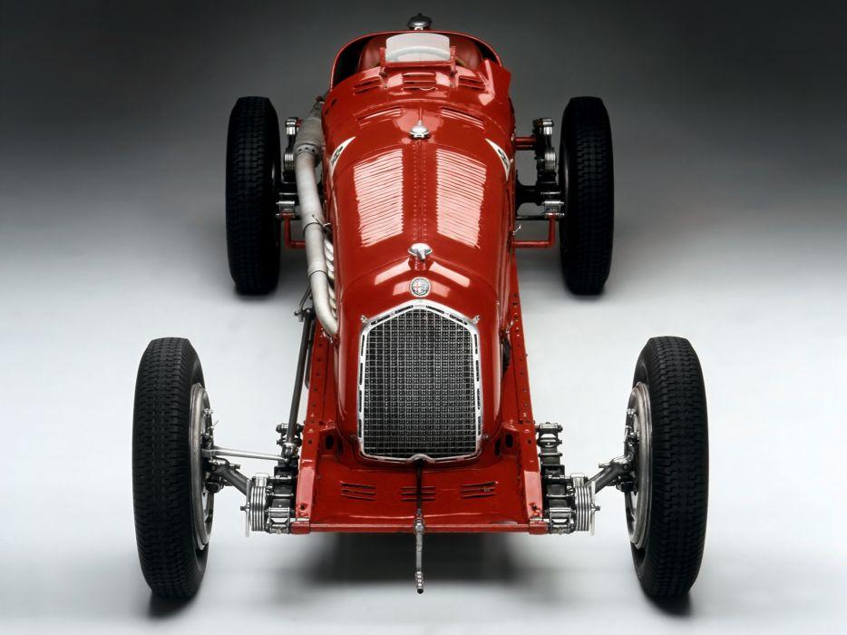 1933 Alfa Romeo Tipo-B P-3 tipo retro race racing    g wallpaper