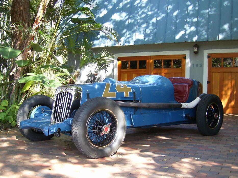 1932 Lucenti-Graham Indianapolis Race Car retro race racing wallpaper
