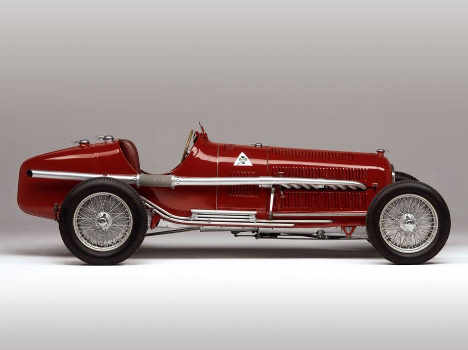 1933 Alfa Romeo Tipo-B P-3 tipo retro race racing q wallpaper