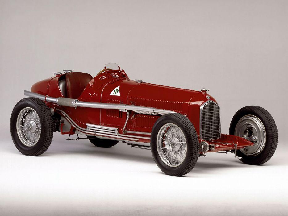 1933 Alfa Romeo Tipo-B P-3 tipo retro race racing wallpaper