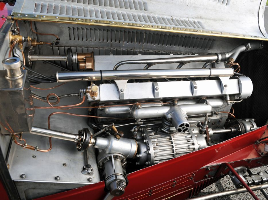 1933 Bugatti Type-51 Grand Prix retro race racing engine engines wallpaper