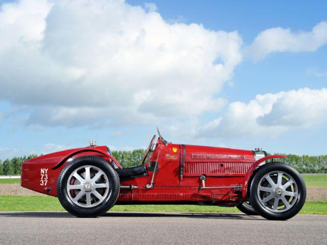 1933 Bugatti Type-51 Grand Prix retro race racing w wallpaper