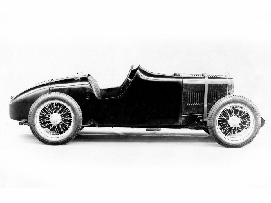 1934 M-G Q-Type Midget retro race racing wallpaper