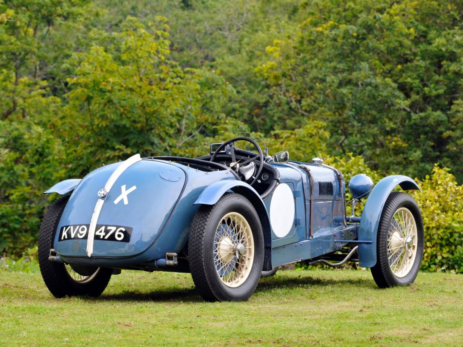 1934 Riley Ulster T-T retro race racing r wallpaper