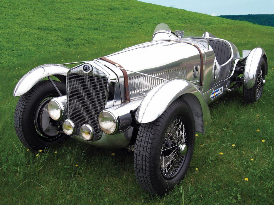 1937 Delage D6-3L Grand Prix retro race racing    f wallpaper