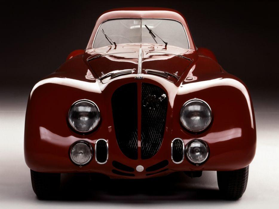 1938 Alfa Romeo 8-C 2900B Speciale LeMans retro race racing q wallpaper