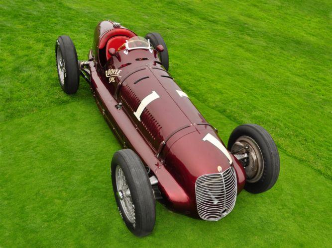 1938 Maserati 8CTF retro race racing wallpaper