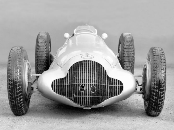 1938 Mercedes Benz Formula Racing Car W154 retro race racing wheel wheels wallpaper