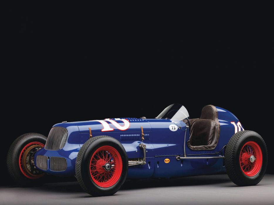 1938 Sparks-Thorne Little Six retro race racing wallpaper