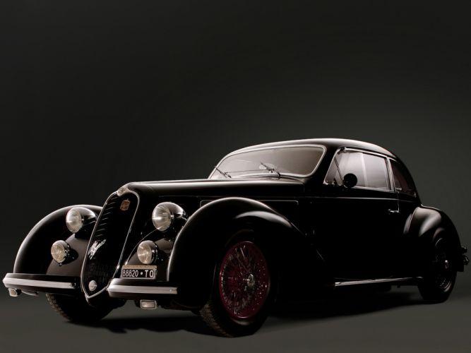 1939 Alfa Romeo 6-C 2300B Mille Miglia retro h wallpaper