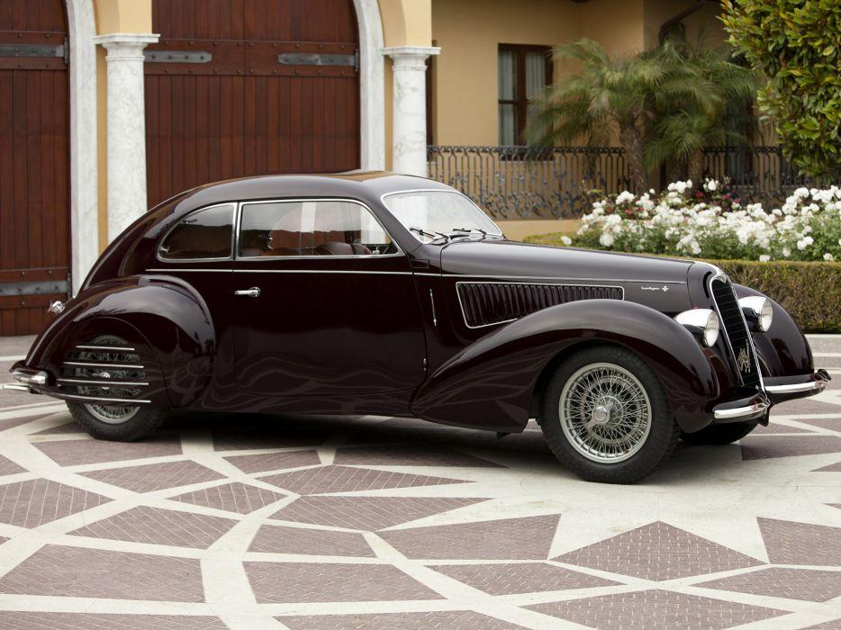 1939 Alfa Romeo 6-C 2300B Mille Miglia retro g wallpaper