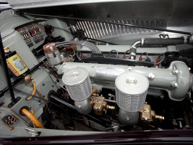 1939 Alfa Romeo 6-C 2300B Mille Miglia retro engine engines wallpaper