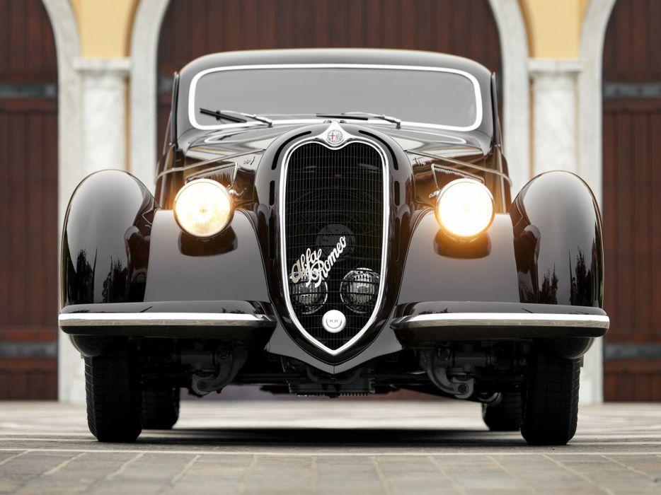 1939 Alfa Romeo 6-C 2300B Mille Miglia retro t wallpaper