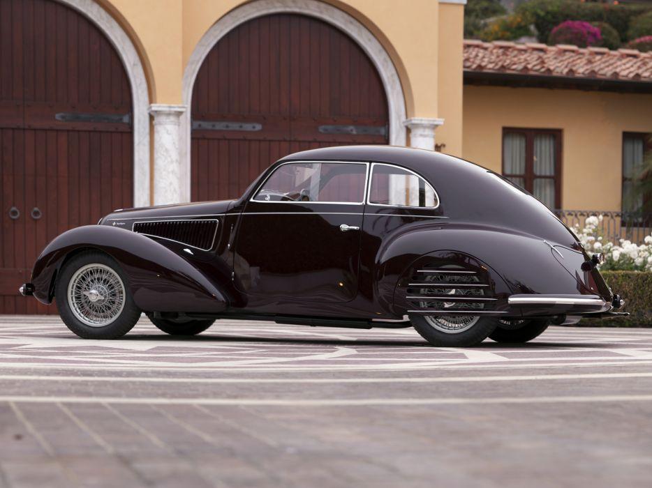 1939 Alfa Romeo 6-C 2300B Mille Miglia retro w wallpaper