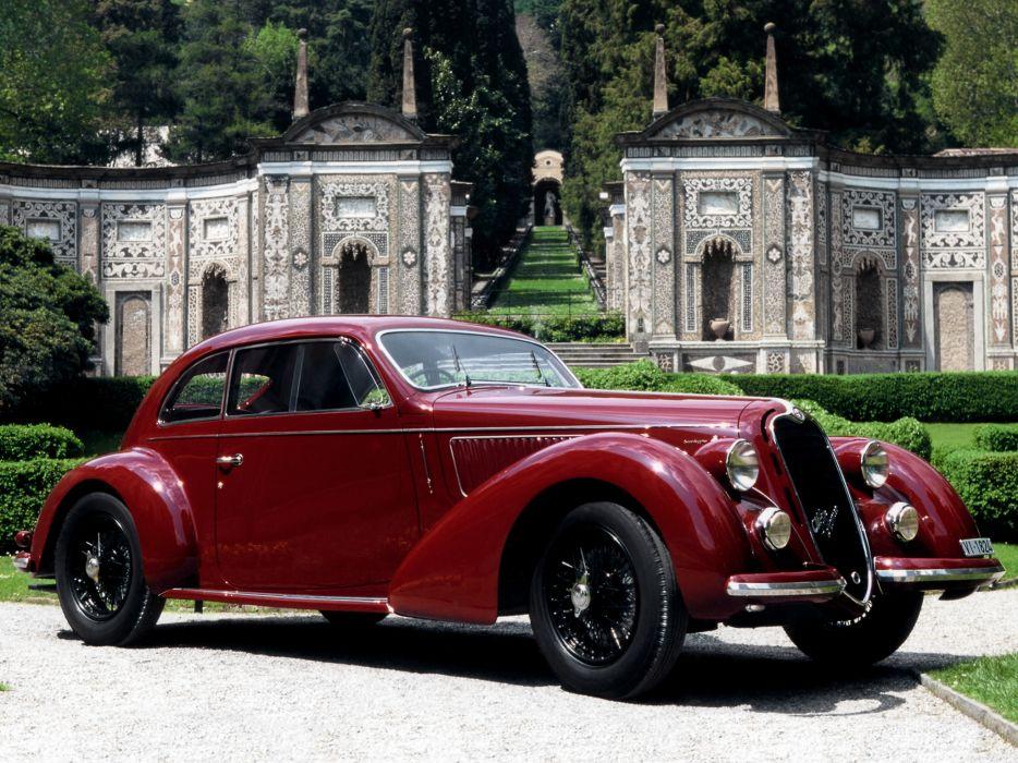 1939 Alfa Romeo 6-C 2300B Mille Miglia retro wallpaper