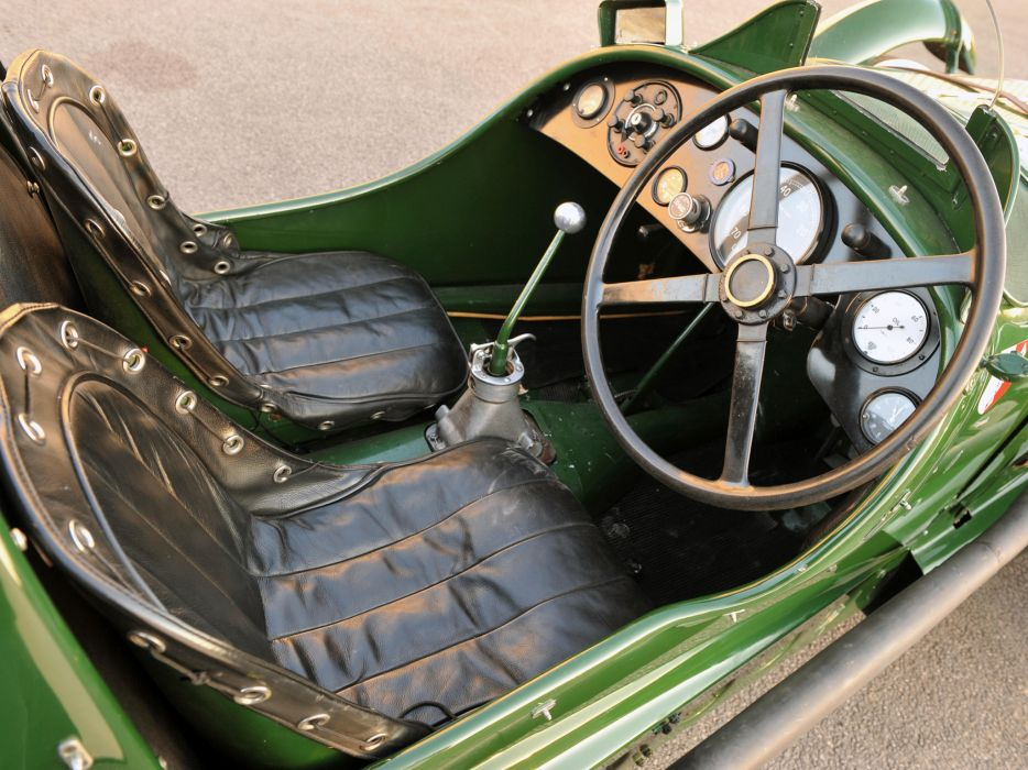 1939 Lagonda V12 Le-Mans retro race racing interior wallpaper