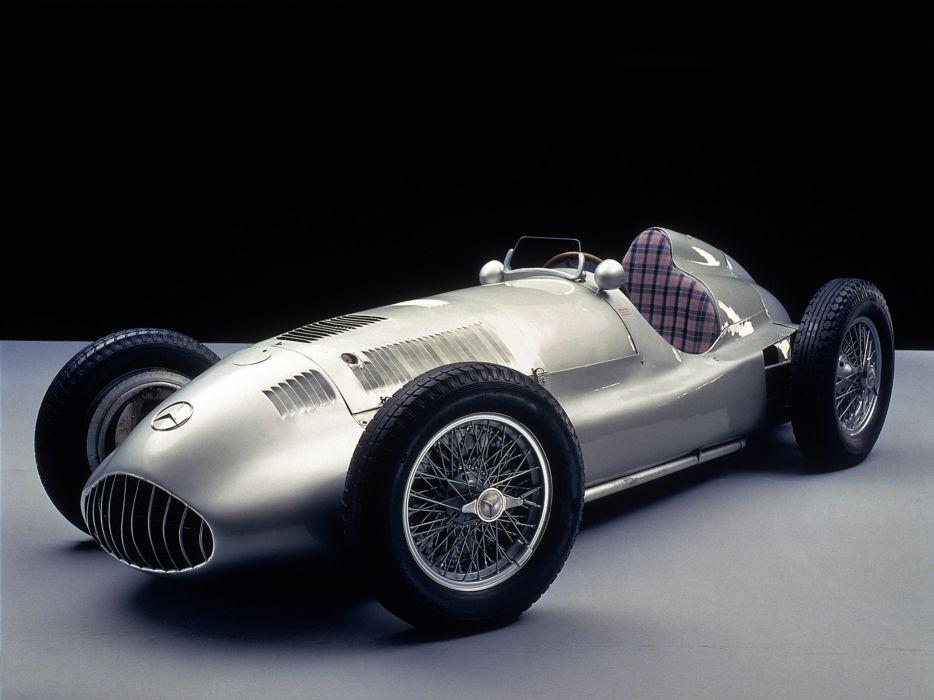 1939 Mercedes Benz Formula W165 retro race racing wheel wheels wallpaper