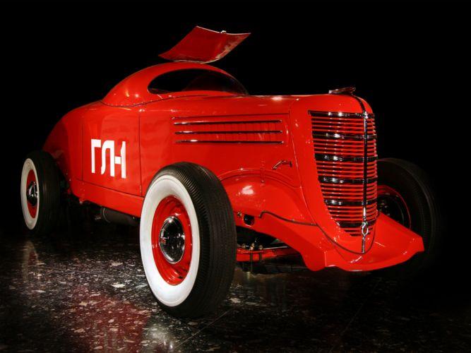 1940 GAZ GL-1 retro race racing wheel wheels wallpaper
