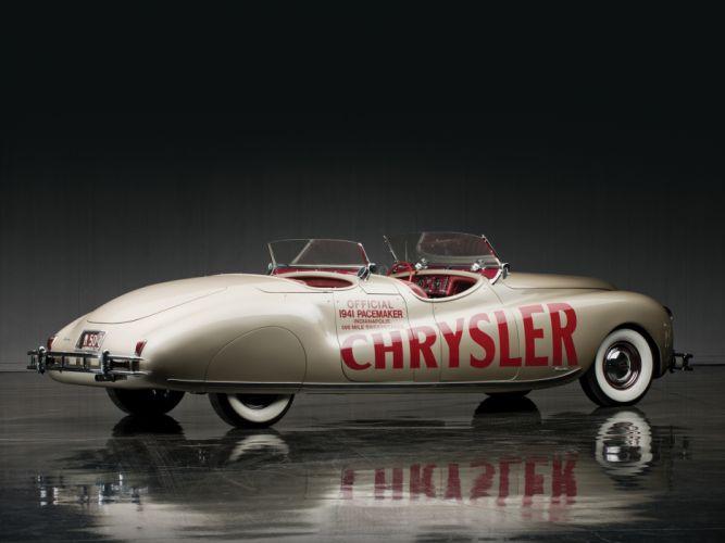 1941 Chrysler Newport Dual Cowl Phaeton LeBaron Indy 500 retro f wallpaper