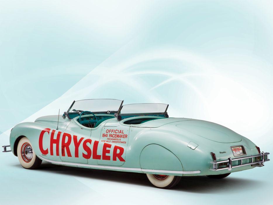 1941 Chrysler Newport Dual Cowl Phaeton LeBaron Indy 500 retro b wallpaper