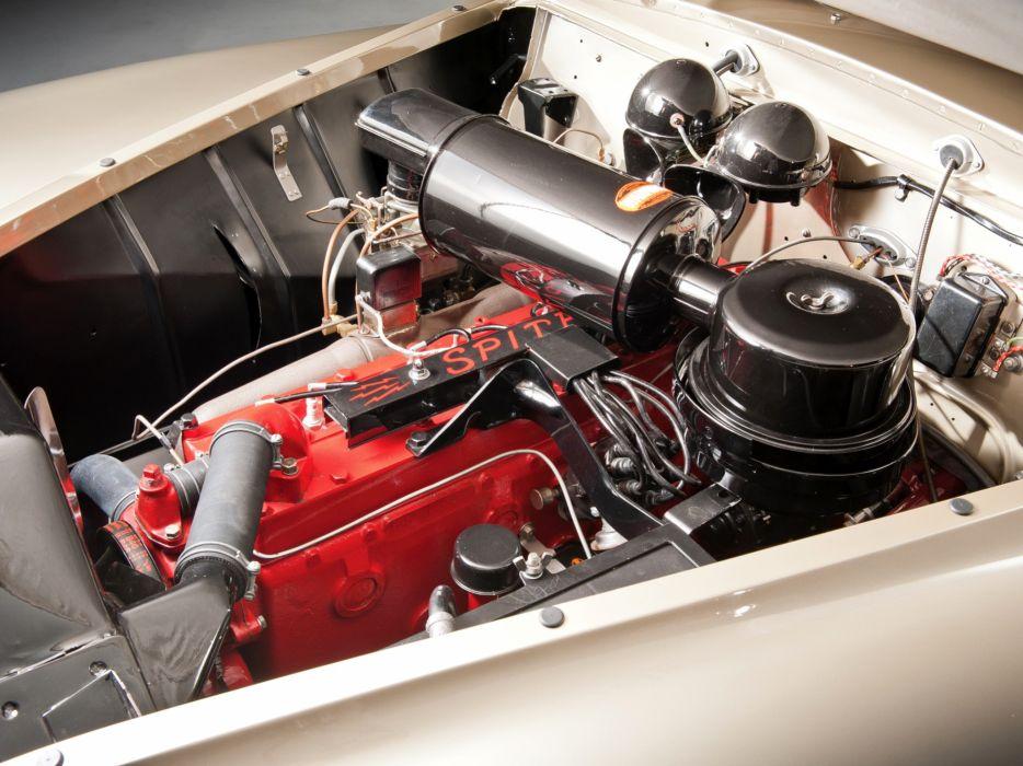 1941 Chrysler Newport Dual Cowl Phaeton LeBaron Indy 500 retro engine engines wallpaper