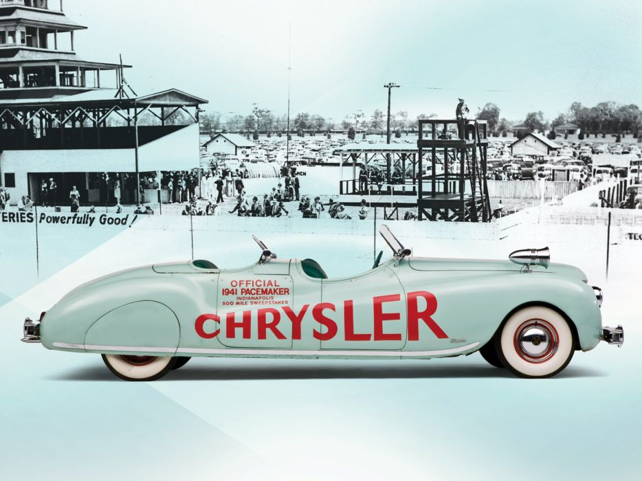 1941 Chrysler Newport Dual Cowl Phaeton LeBaron Indy 500 retro c wallpaper