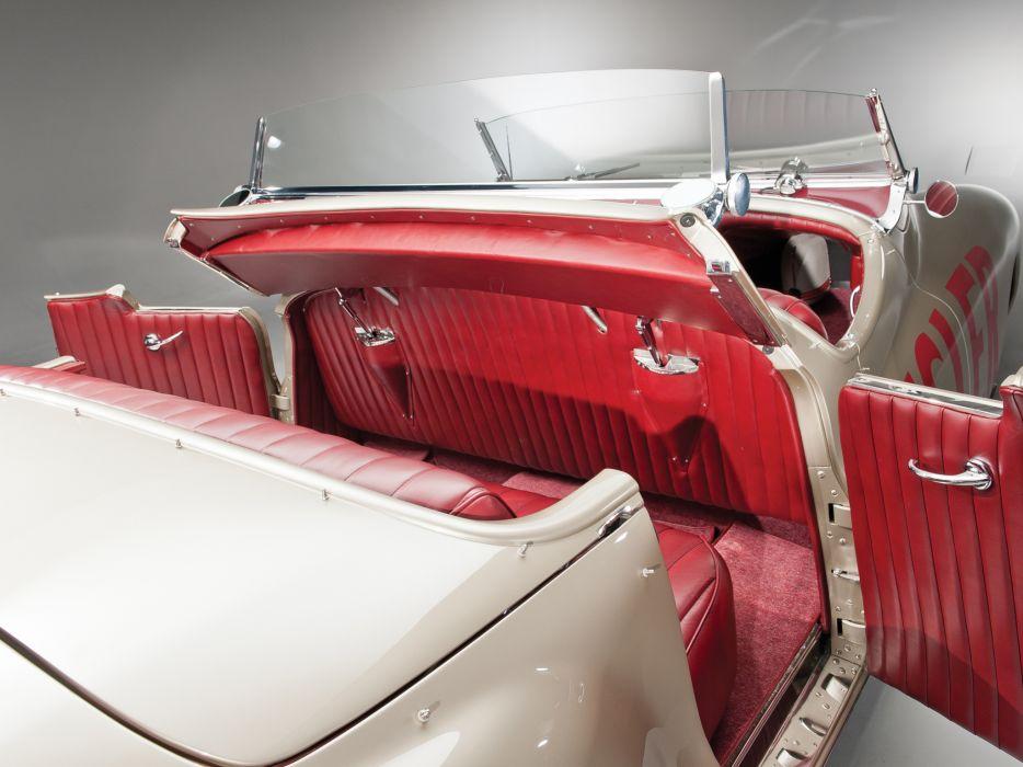 1941 Chrysler Newport Dual Cowl Phaeton LeBaron Indy 500 retro interior wallpaper