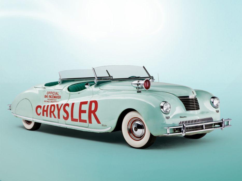 1941 Chrysler Newport Dual Cowl Phaeton LeBaron Indy 500 retro t wallpaper