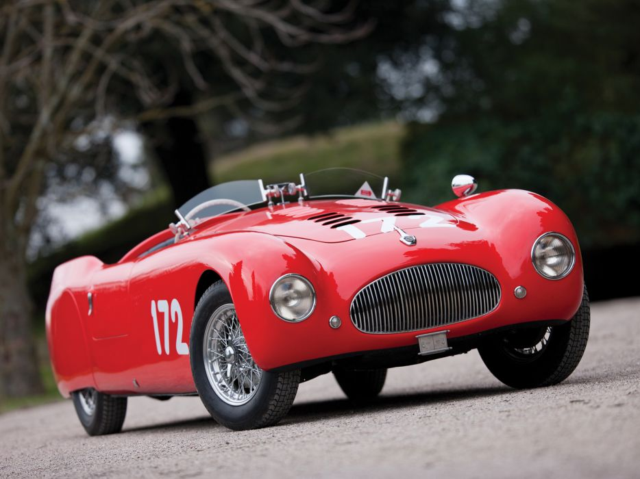 1948 Cisitalia 202 Nuvolari Mille Miglia Spyder retro race racing      g wallpaper