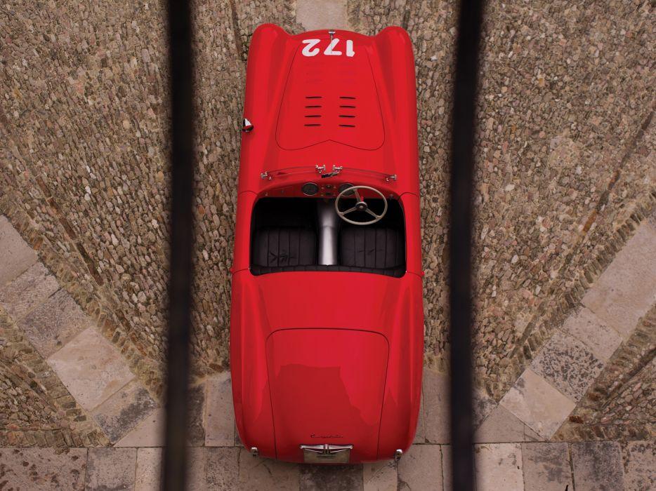 1948 Cisitalia 202 Nuvolari Mille Miglia Spyder retro race racing interior wallpaper