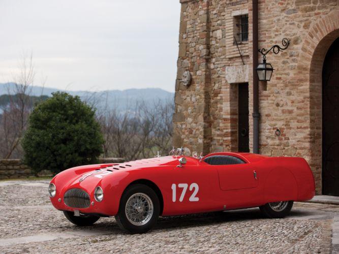 1948 Cisitalia 202 Nuvolari Mille Miglia Spyder retro race racing q wallpaper