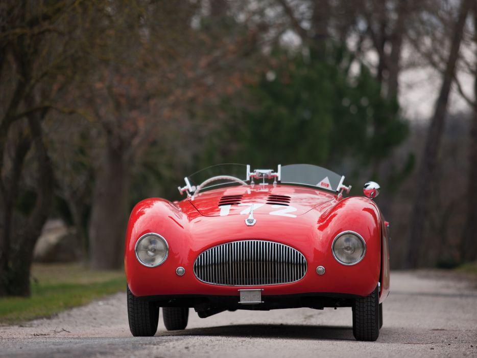 1948 Cisitalia 202 Nuvolari Mille Miglia Spyder retro race racing w wallpaper