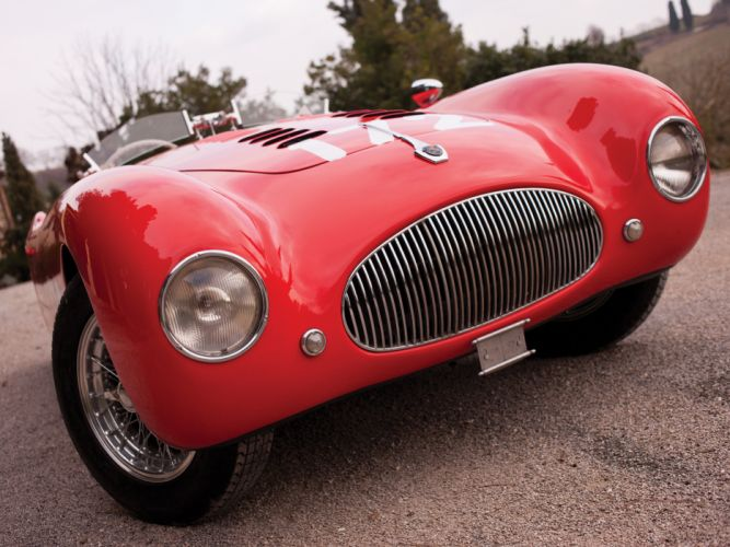 1948 Cisitalia 202 Nuvolari Mille Miglia Spyder retro race racing wheel wheels wallpaper