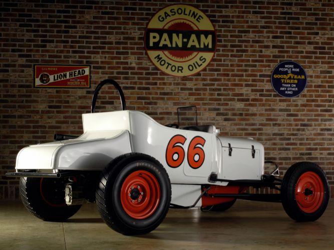 1948 GMC Pinky Track Roadster retro race racing g wallpaper