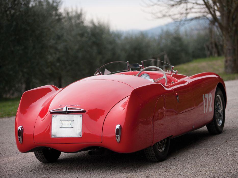 1948 Cisitalia 202 Nuvolari Mille Miglia Spyder retro race racing wallpaper