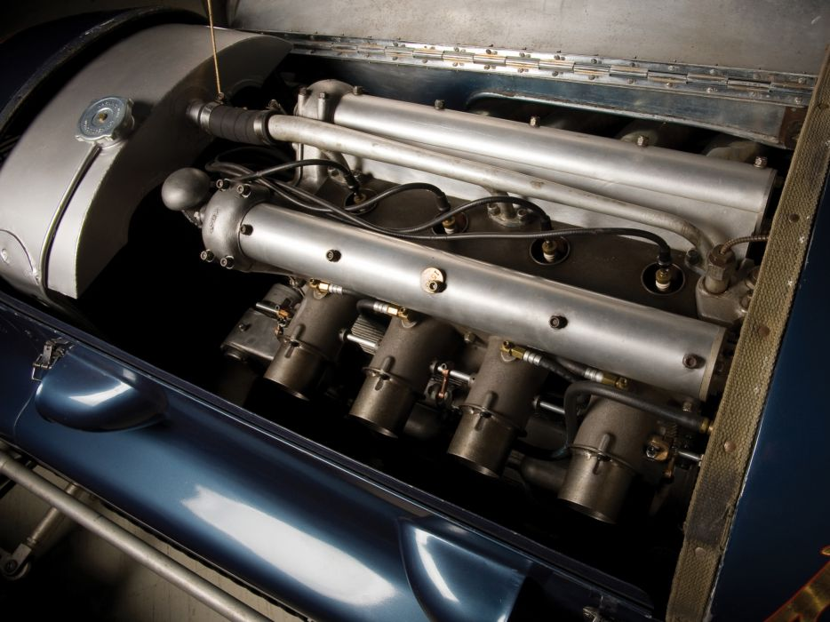 1949 Bellanger Special Indy Roadster retro race racing engine engines wallpaper
