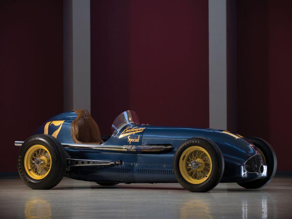 1949 Bellanger Special Indy Roadster retro race racing wallpaper