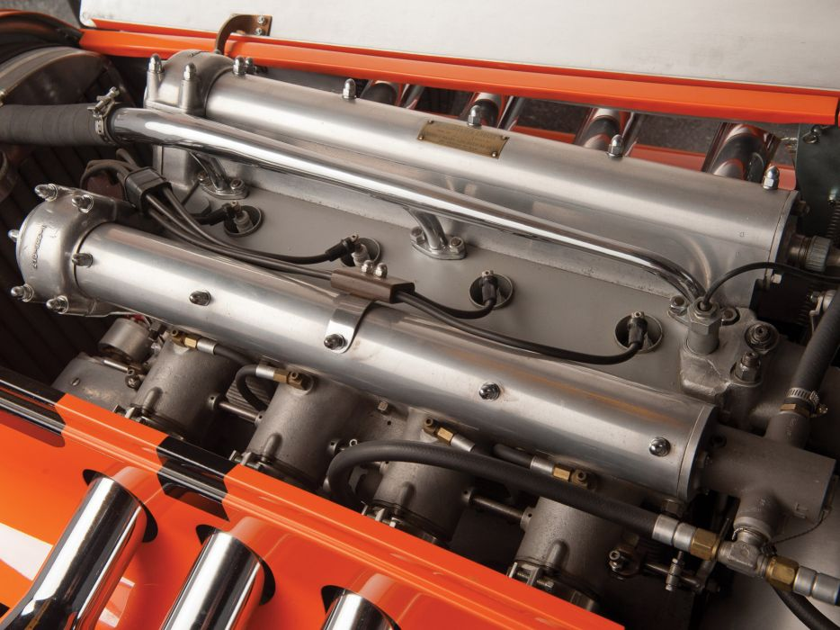 1949 Snowberger-Offy Indy 500 retro race racing engine engines wallpaper