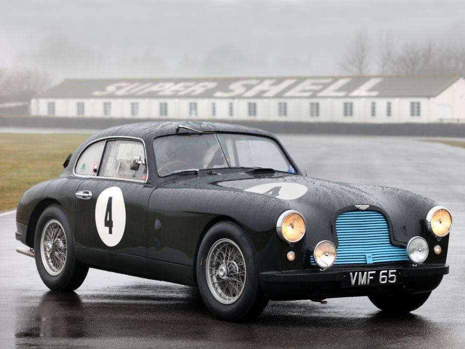 1950 Aston Martin DB2 retro race racing   g wallpaper