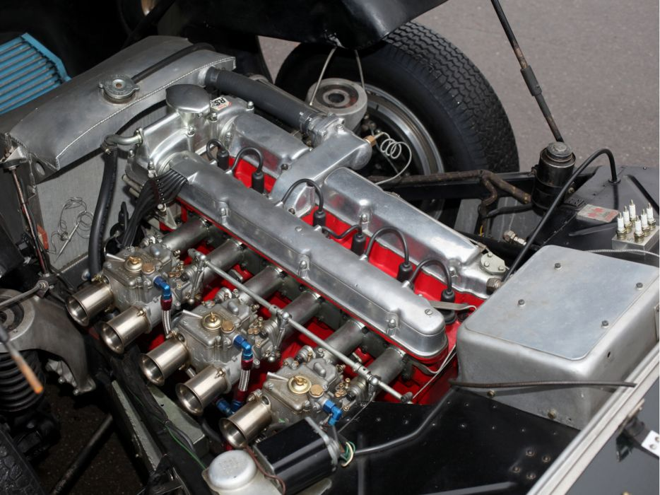 1950 Aston Martin DB2 retro race racing engine engines wallpaper