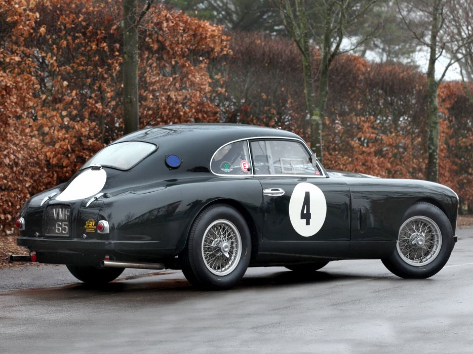 1950 Aston Martin DB2 retro race racing q wallpaper