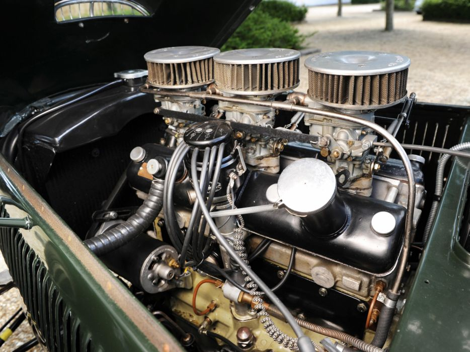 1950 Frazer Nash Le-Mans retro race racing engine engines q wallpaper