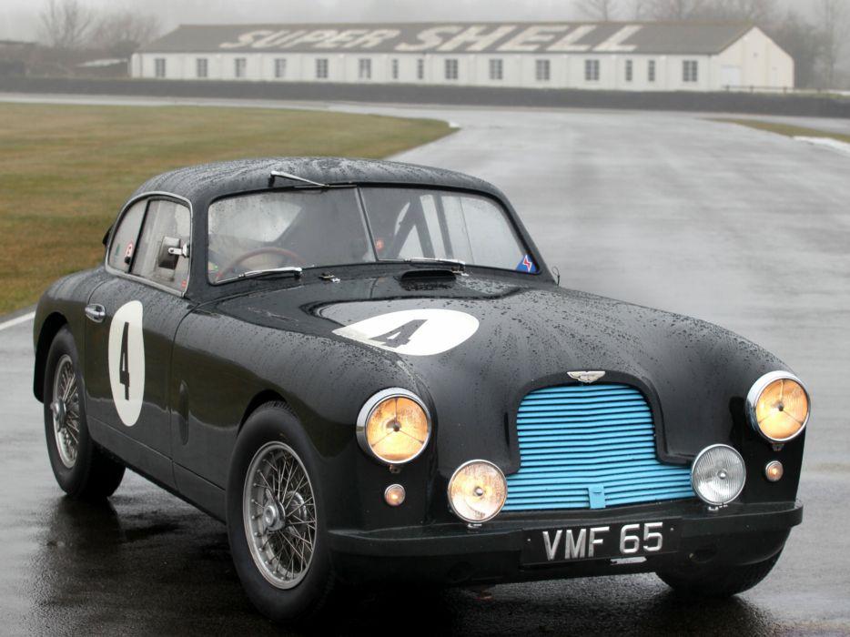 1950 Aston Martin DB2 retro race racing wallpaper