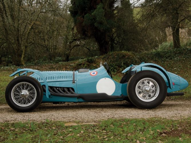 1950 Talbot-Lago T26 G-S retro race racing h wallpaper