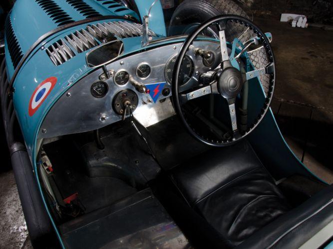 1950 Talbot-Lago T26 G-S retro race racing interior wallpaper