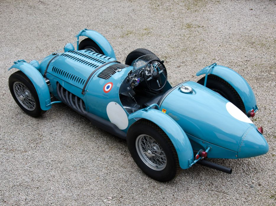 1950 Talbot-Lago T26 G-S retro race racing q wallpaper