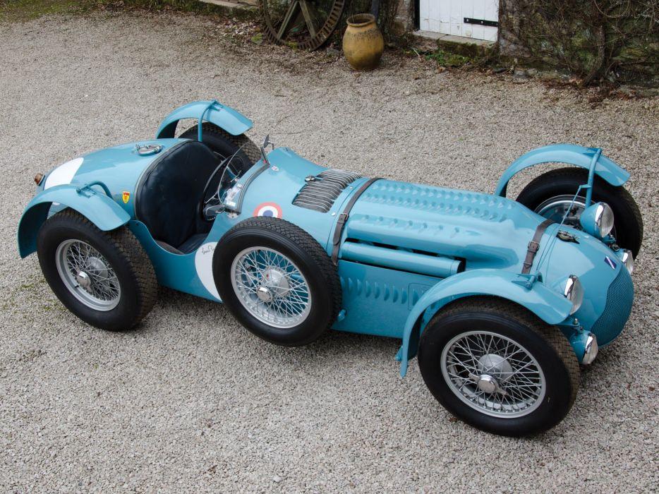 1950 Talbot-Lago T26 G-S retro race racing u wallpaper