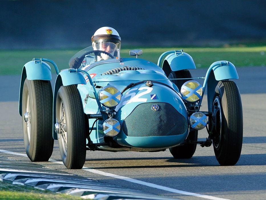 1950 Talbot-Lago T26 G-S retro race racing wallpaper
